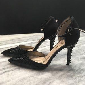 Sam & Libby Black Glam Rock Heels